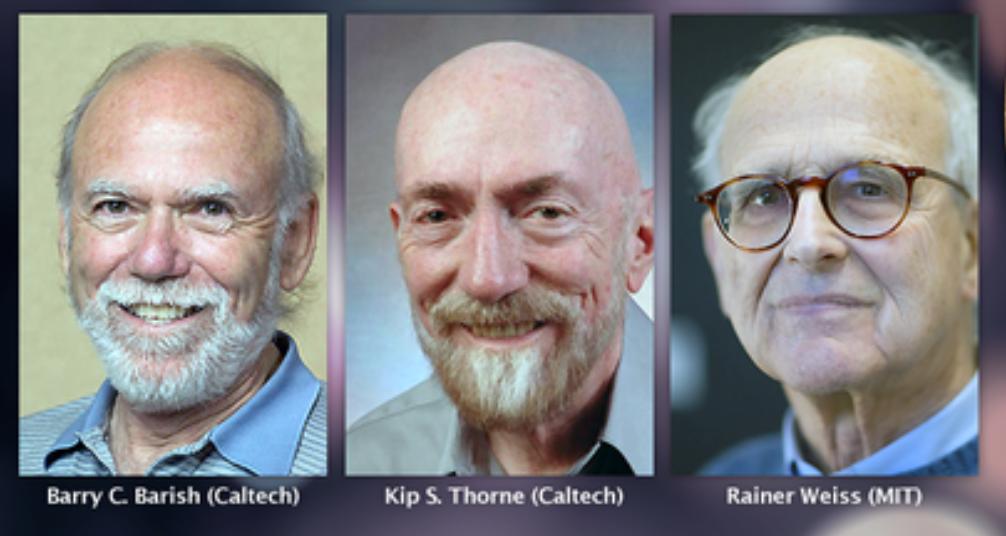 La detección de ondas gravitacionales se lleva el Nobel de Física 2017