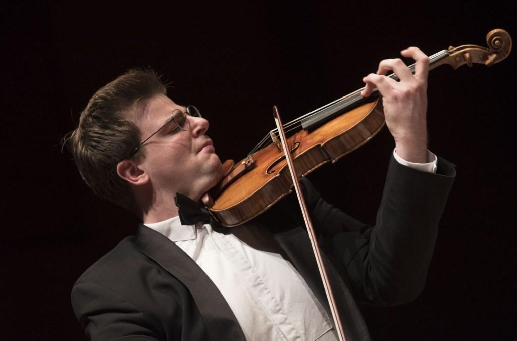 Chad Hoppes, el violín romántico-impresionista