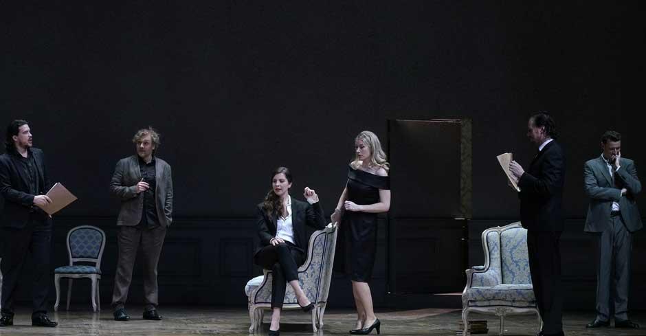 Capriccio, de Strauss, en el Teatro Real: riesgo musical, literalidad escénica