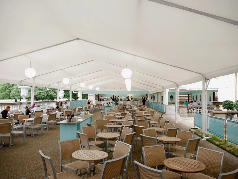 Buckingham Palace Garden tea room