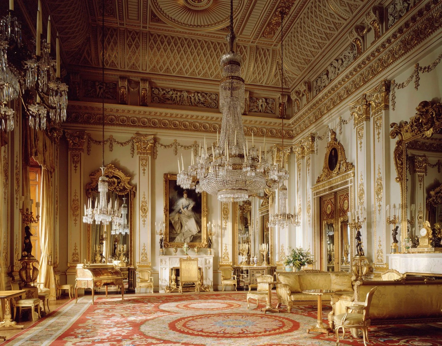 Buckingham Palace The State Rooms White Drawing Room