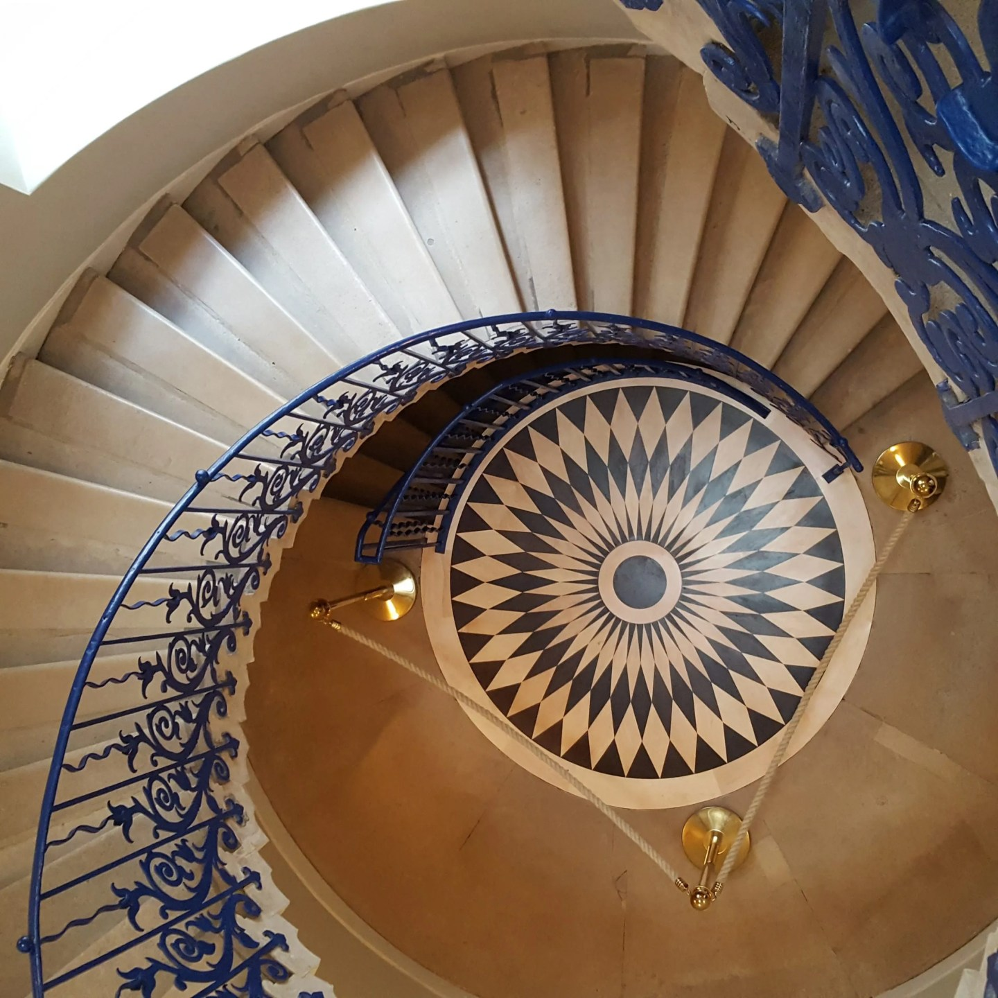 Queen's House tulip staircase