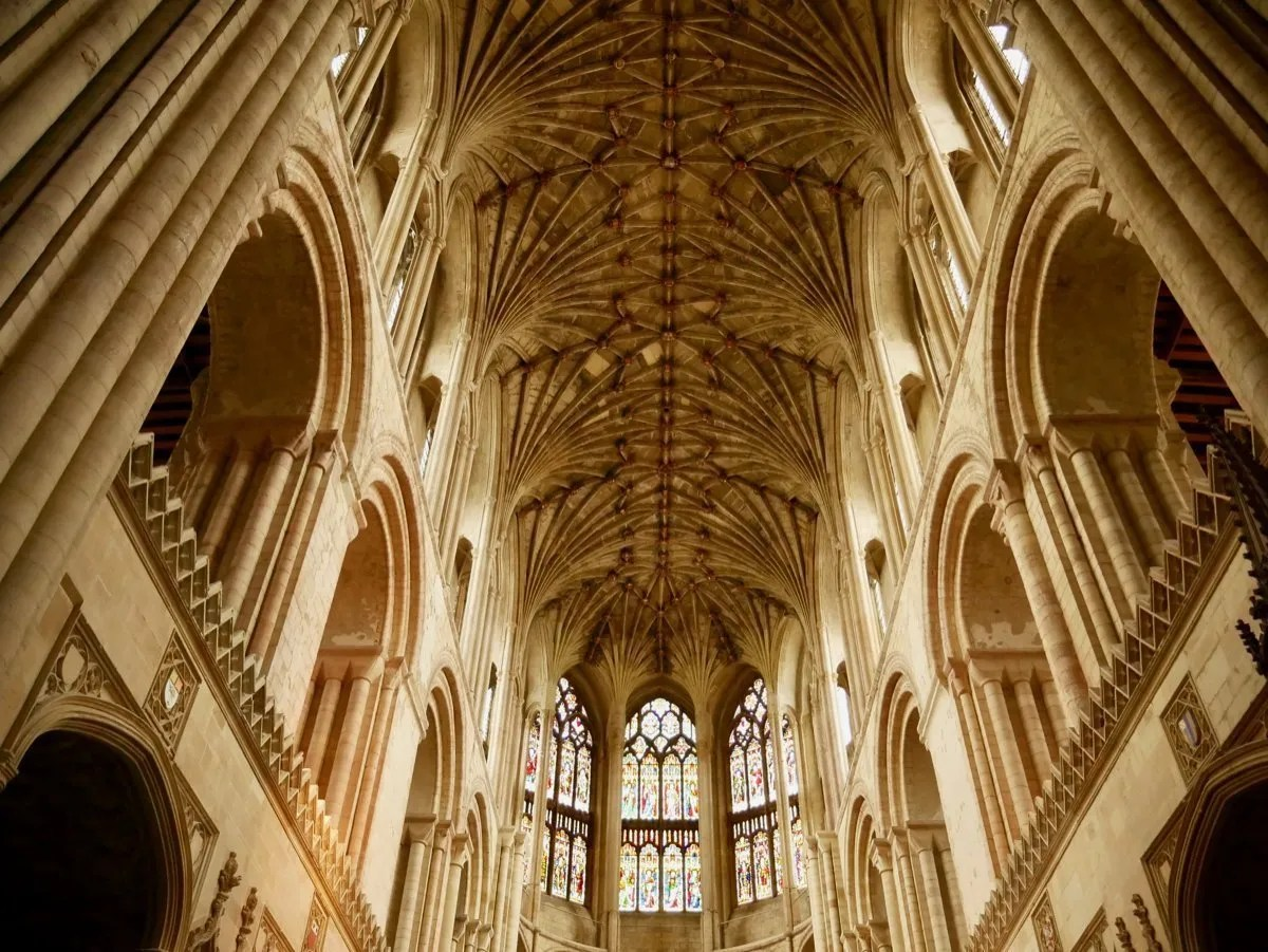 Norwich Cathedral Nave roof