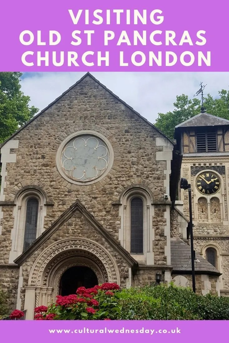 Old St Pancras Church London.