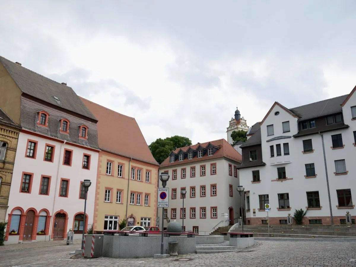 Colditz Town Square