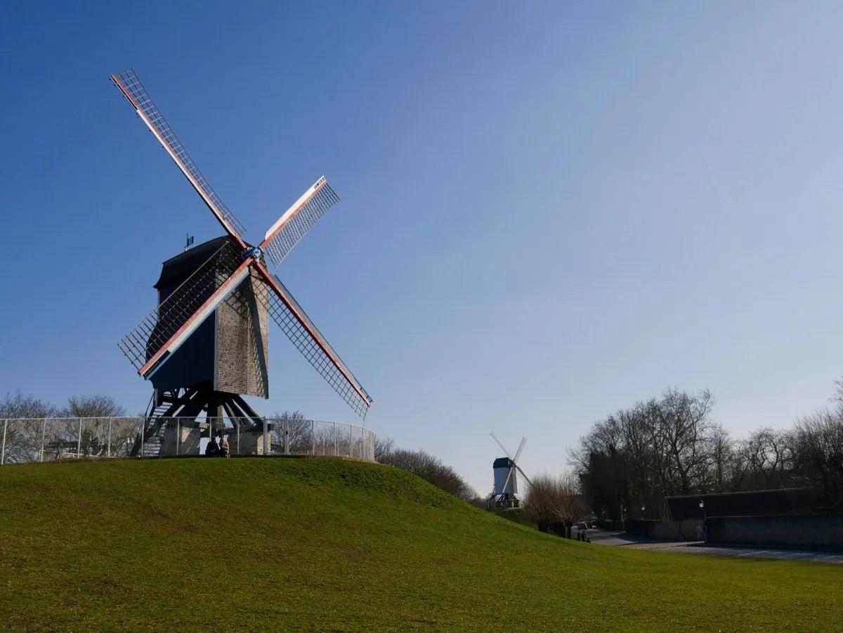 Bruges Windmills
