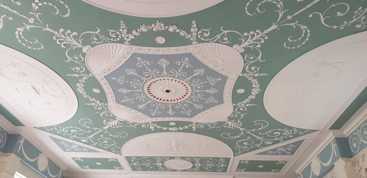 Wedgewood ceiling Pizhanger manor
