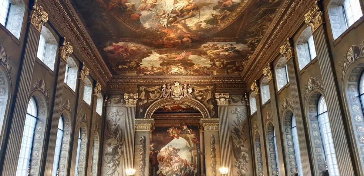 Baroque Painted Hall Greenwich ceiling