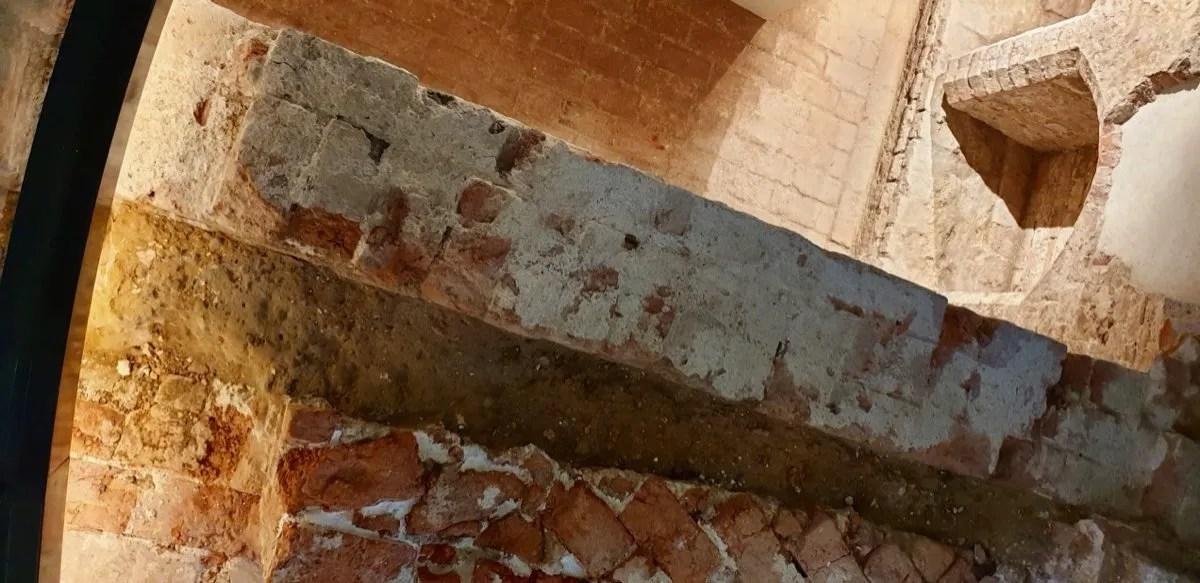 Tudor Brick cellars part of Greenwich Palace