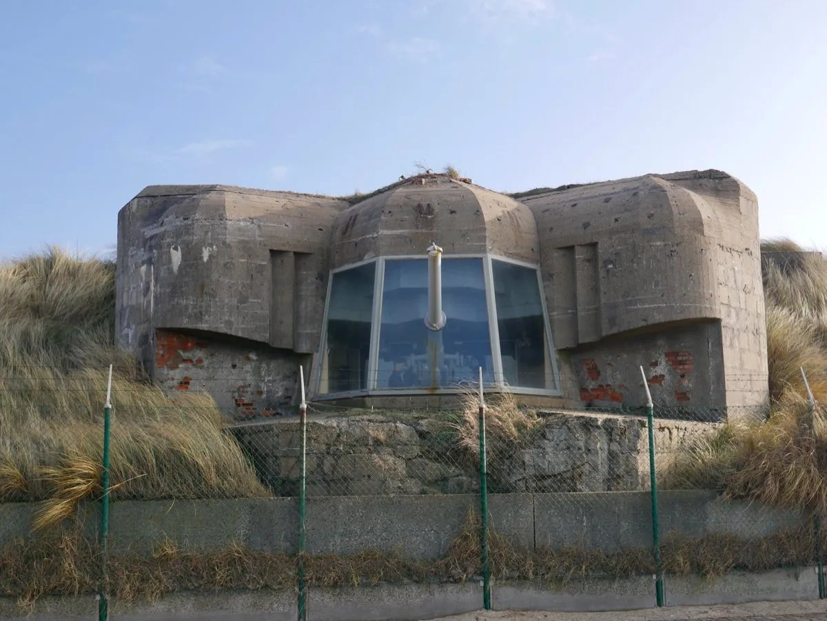 German Gun Emplacement Belgium