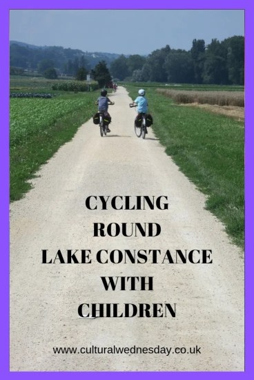 Cycling round Lake Constance with Children