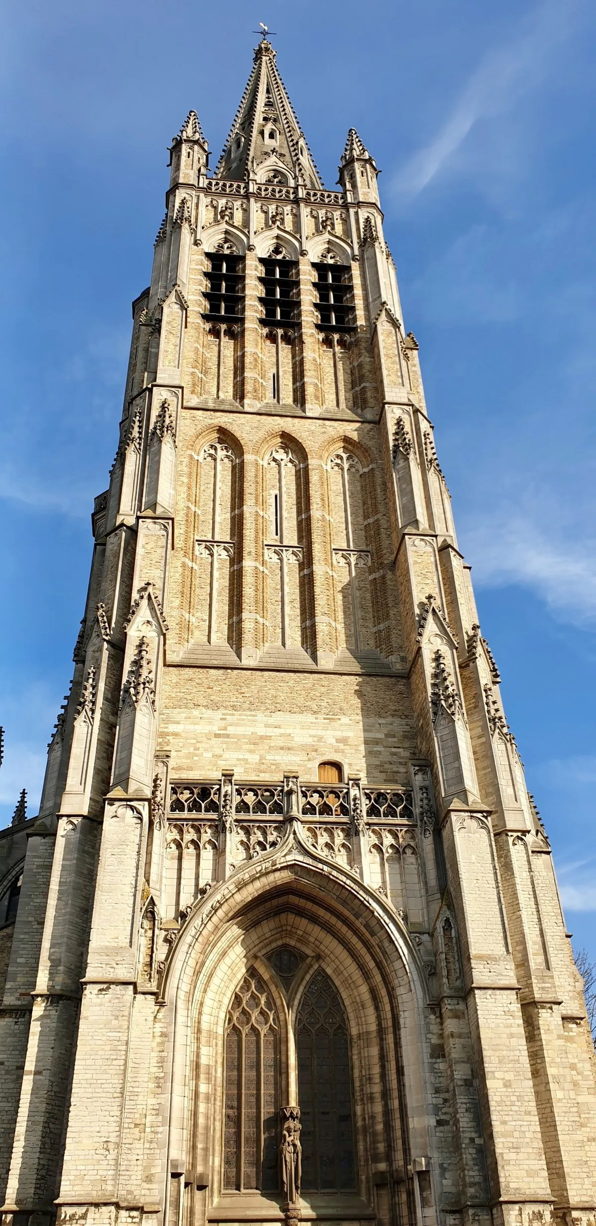St Martins Cathedral exterior Ypres