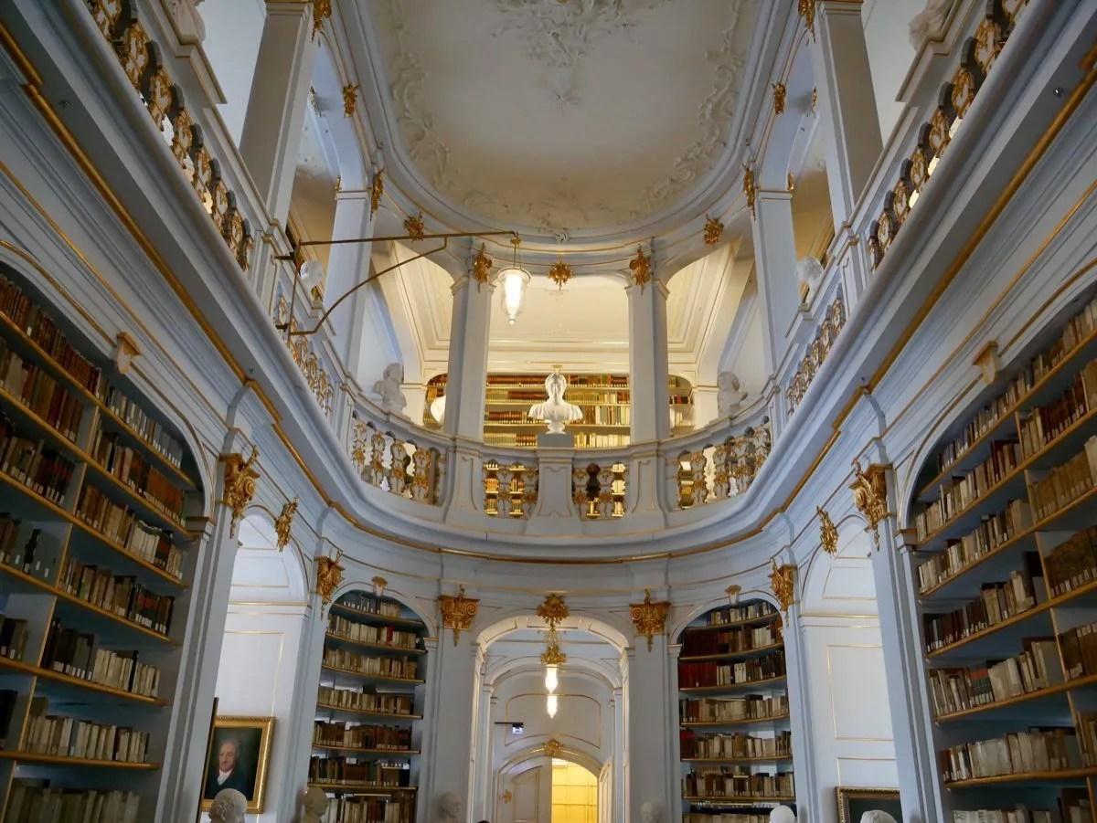 Baroque Anna Amalia Library Weimar