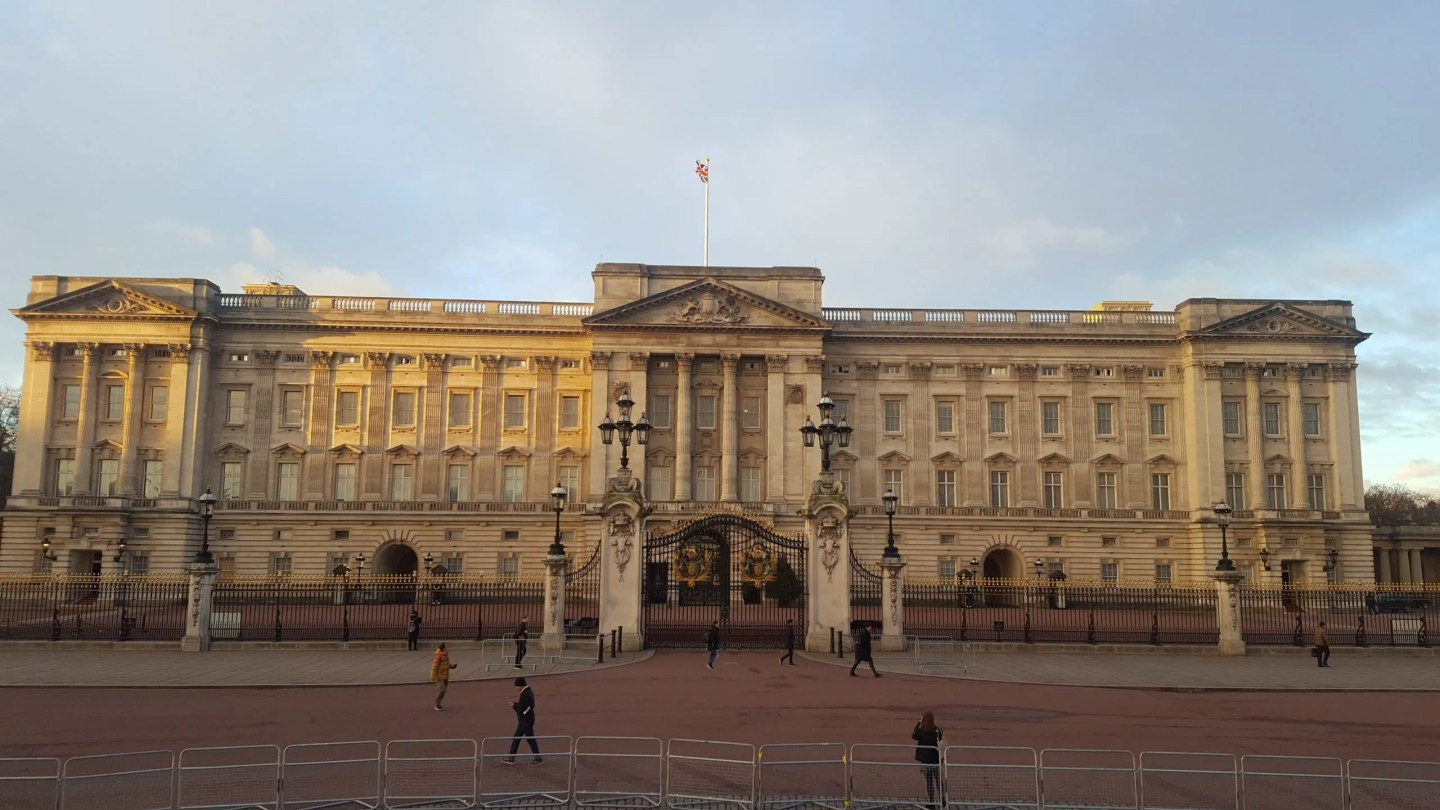 Buckingham Palace Facade