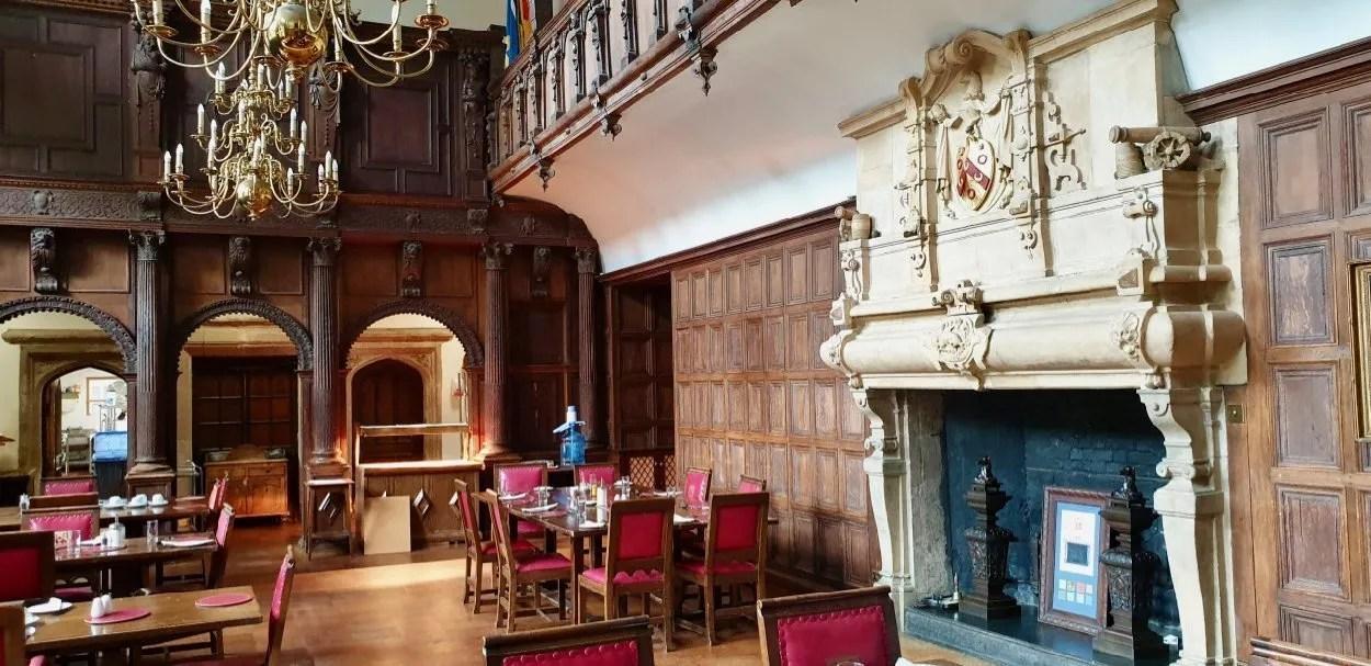 Galleried Tudor Great Hall London Charterhouse