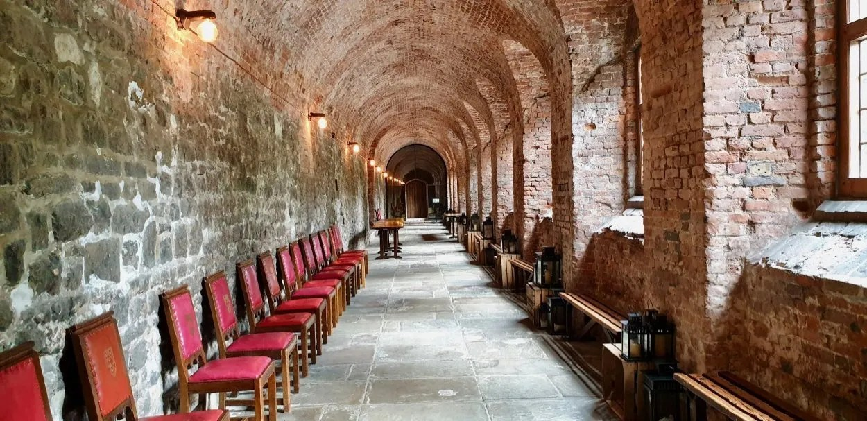 Brick Cloister London Charterhouse