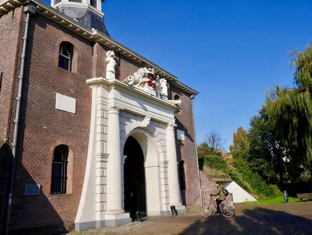 City gate Leiden