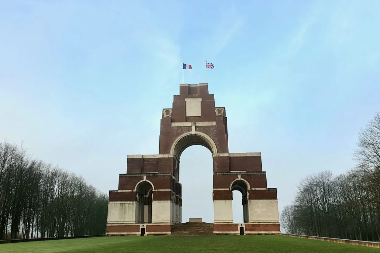 Thiepval Somme war memorial Picardy France