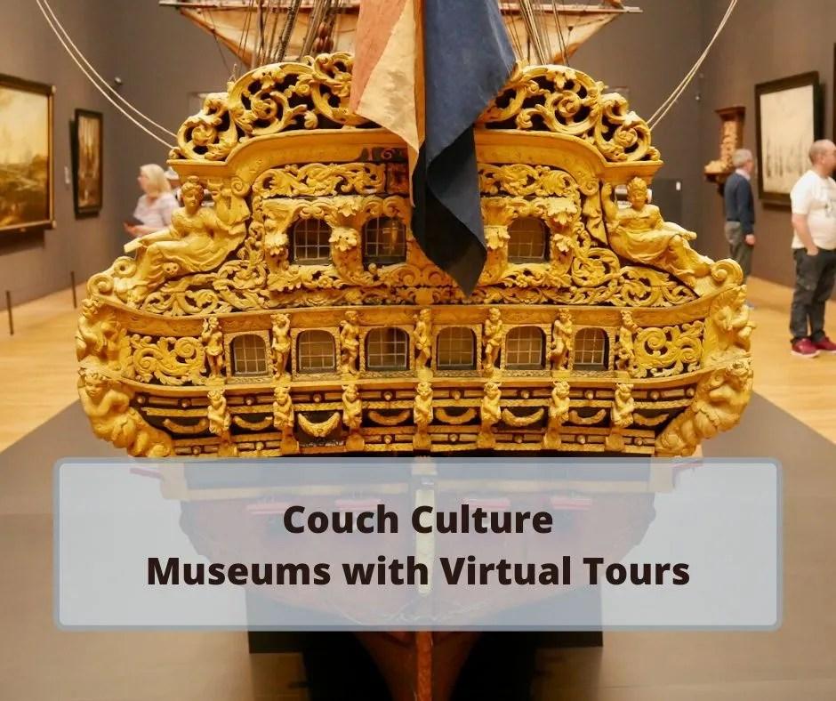 Couch Culture: London Museum Virtual Tours