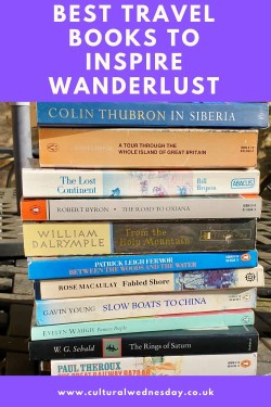Travel Books to Inspire Wanderlust best books to inspire both armchair travel and real journeys #armchairtravel #travelbooks #bookreview