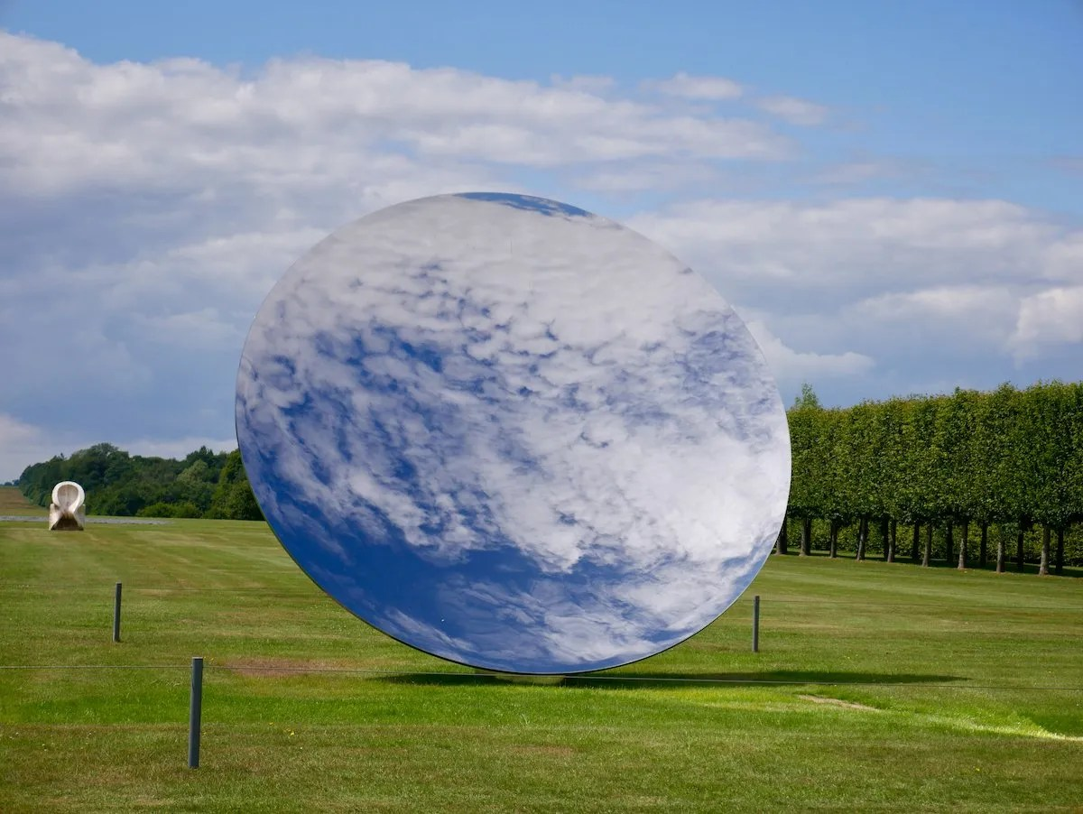 Sky Mirror by Sir Anish Kapoor at Houghton Hall