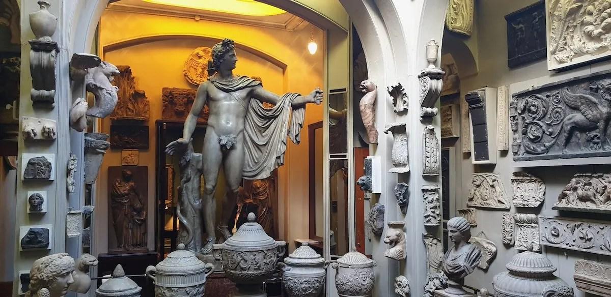 Roman sculpture Sir John Soane Museum