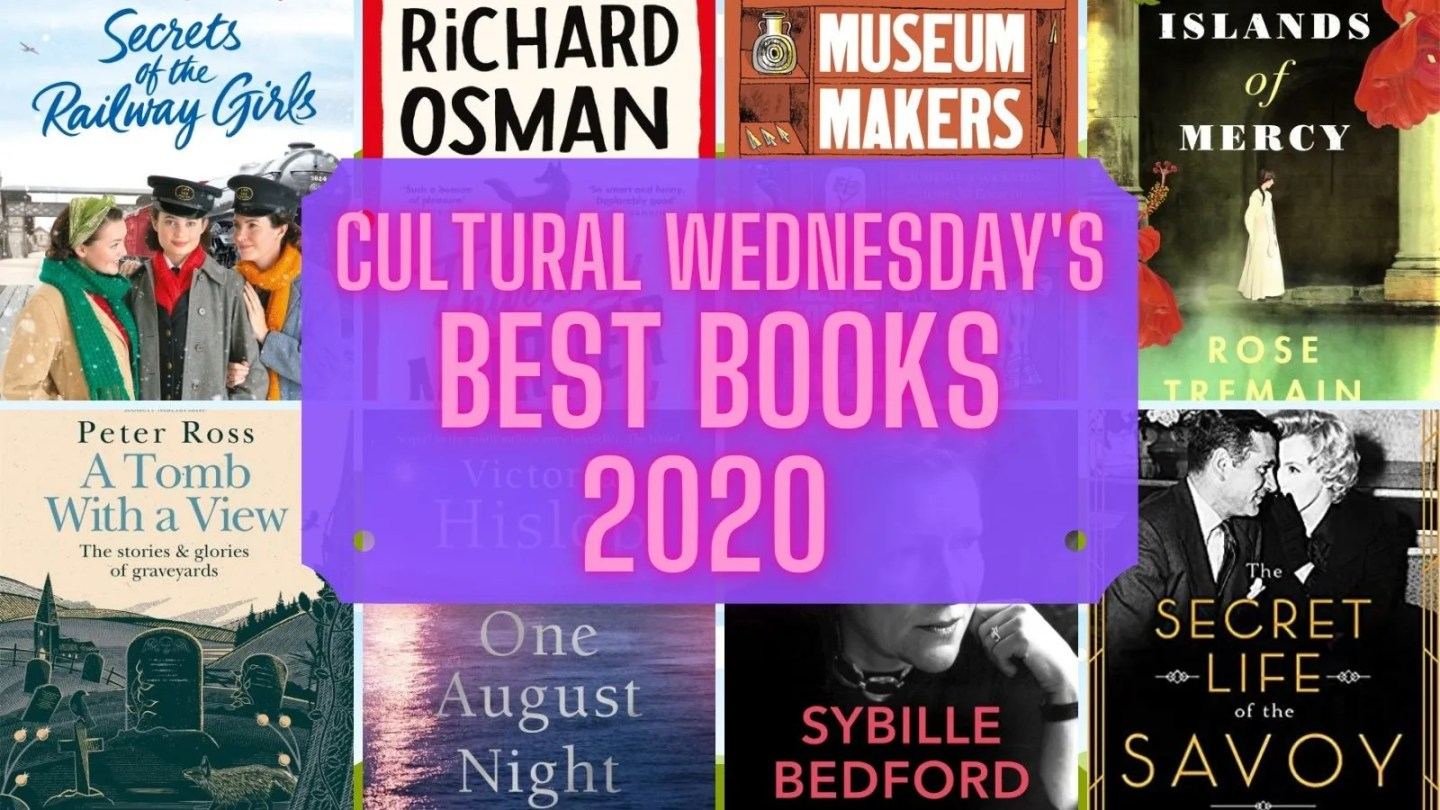 Cultural Wednesday's Best Books 2020 round up of best books to read this year