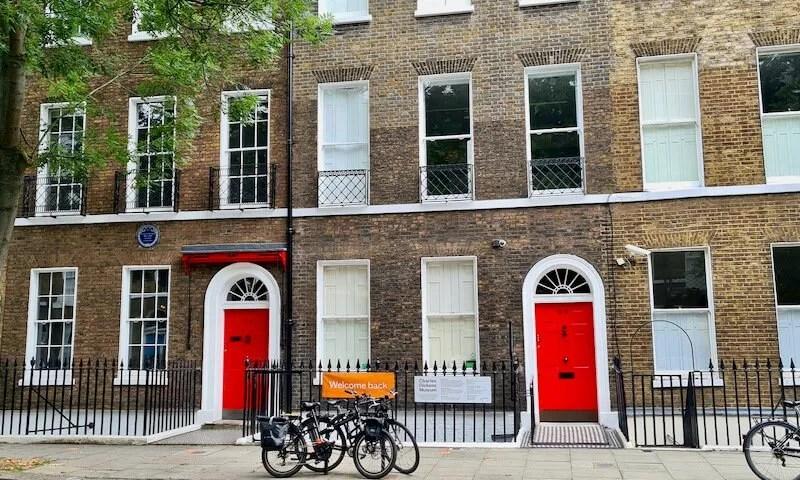 Charles Dickens Museum Doughty Street London