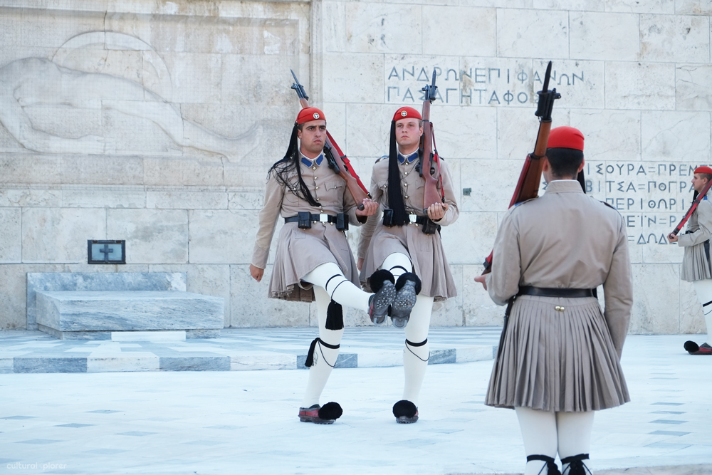 Tomb of the Unknown Soldier Athes