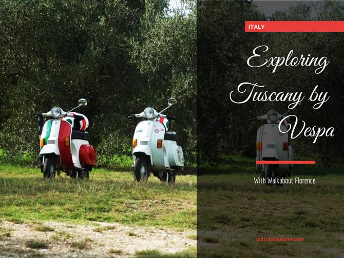 Exploring Tuscany by Vespa