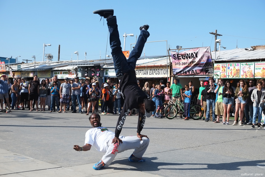 Venice Boardwalk Performer