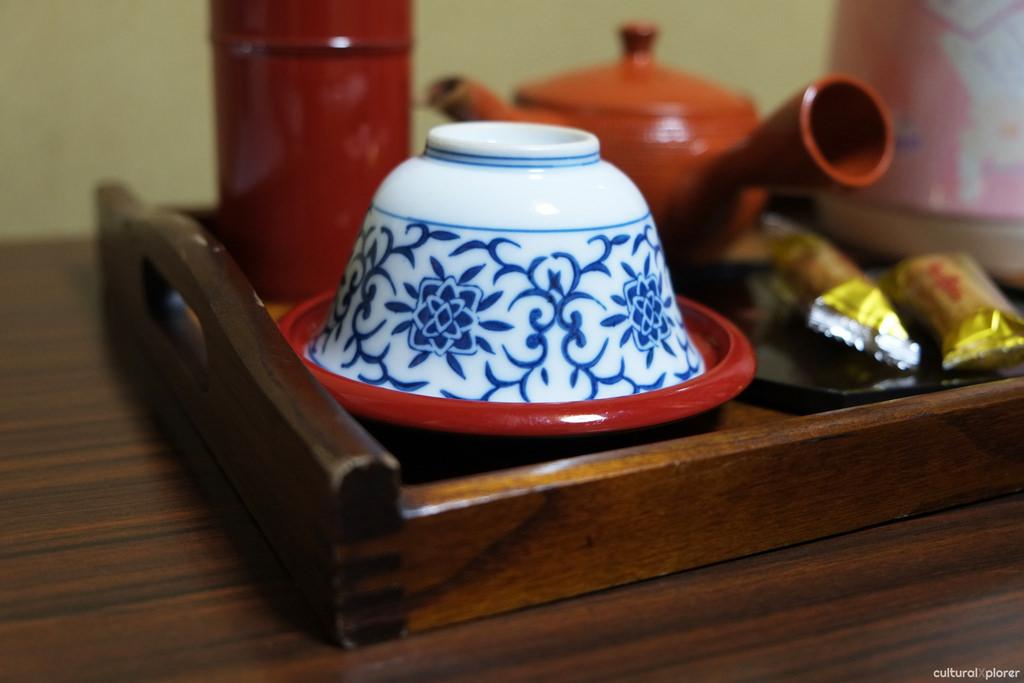 tea cup ryokan