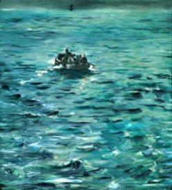 Manet, La fuga di Rochefort