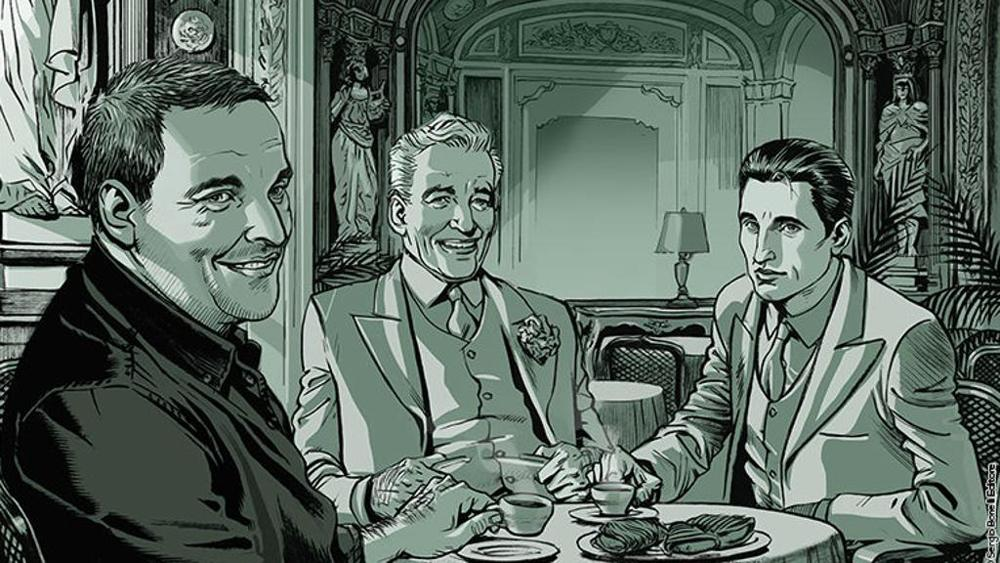 Maurizio De Giovanni presenta Il Commissario Ricciardi a Fumetti