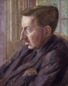 Forster in un ritratto di Dora Carrington (1920)