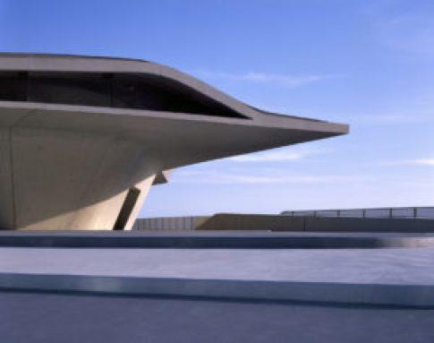 Zaha Hadid, Terminal Marittimo di Salerno, il cui modello è esposto al MAXXI