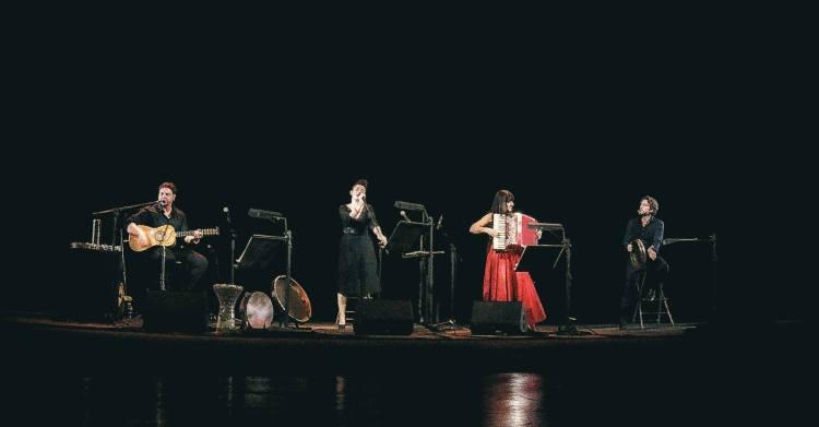 Alessio Boni e il trio musicale