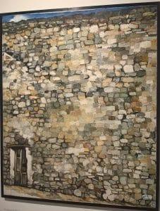 Renato Guttuso, Il muro di Erice, 1976