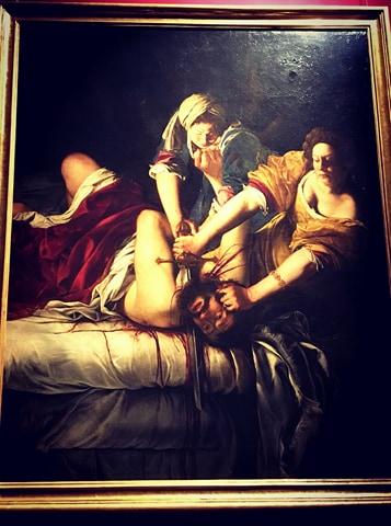 Giuditta e Oloferne di Artemisia Gentileschi, 1920