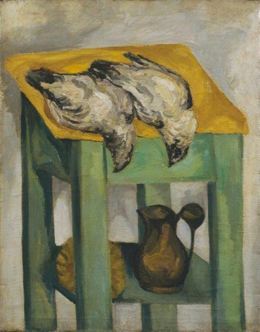 Ernesto Treccani, Colombi assassinati, 1941