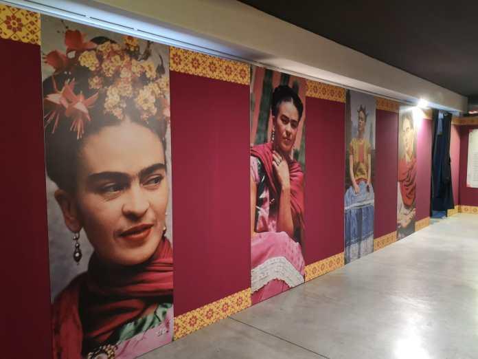 frida kahlo opere mostra spazio tirso roma