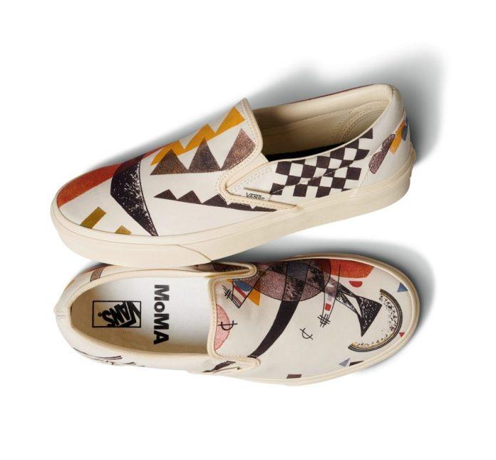 Vans X Moma scarpe e zaini
