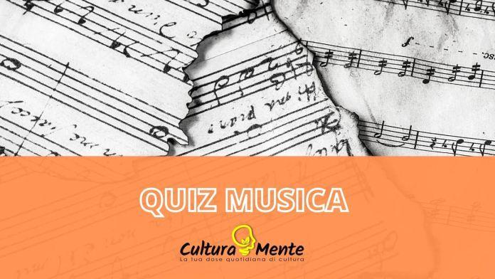 Quiz musica