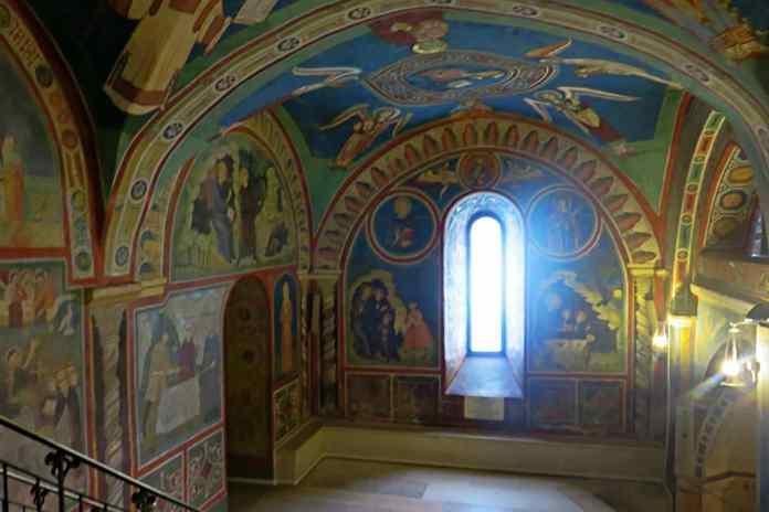 subiaco monastero santa scolastica