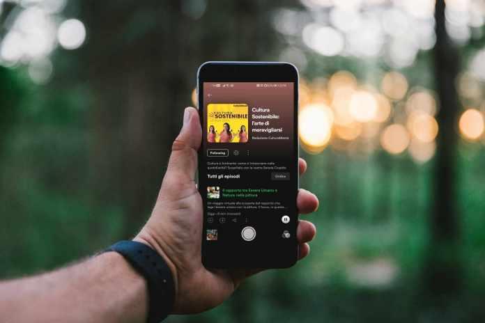cultura e sostenibilità podcast spotify