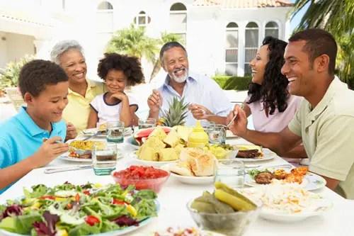 Large Family Dinner Restaurants