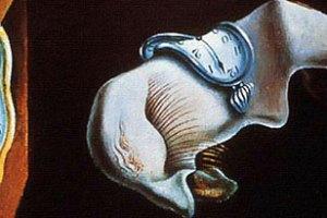 Reprodução do quadro A persistência da memória, do pintor espanhol Salvador Dali