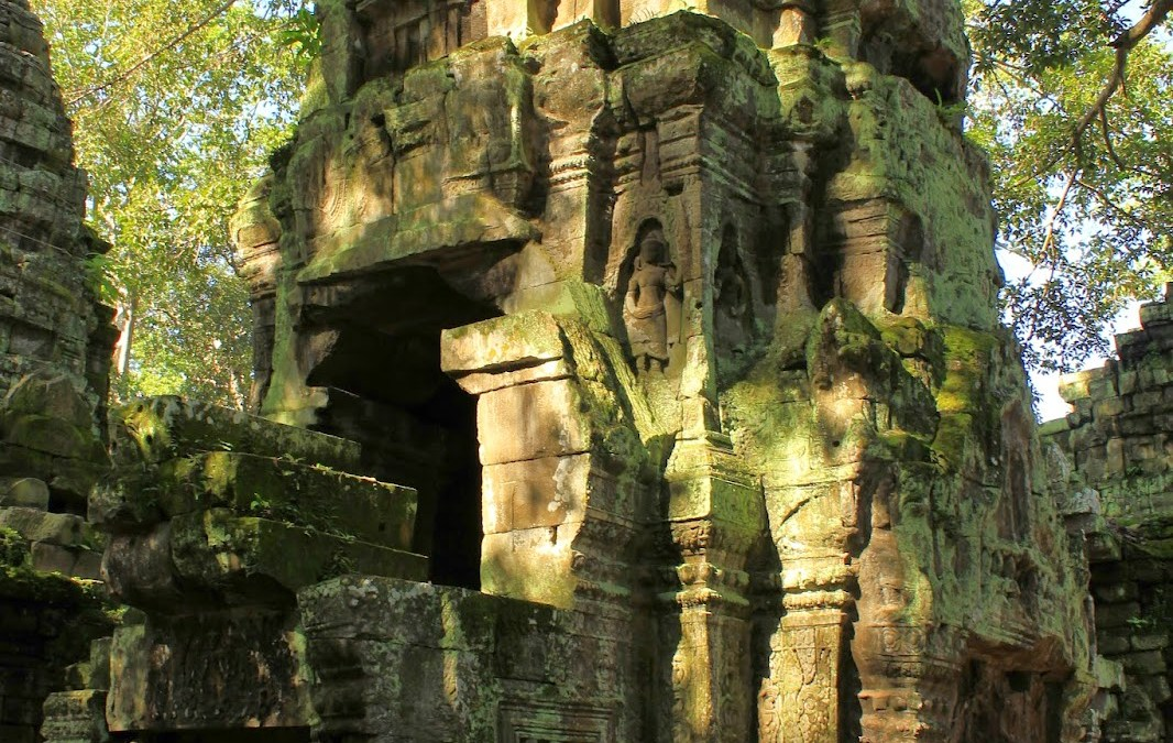 Ta Prohm, ruínas em perfeita harmonia com a natureza