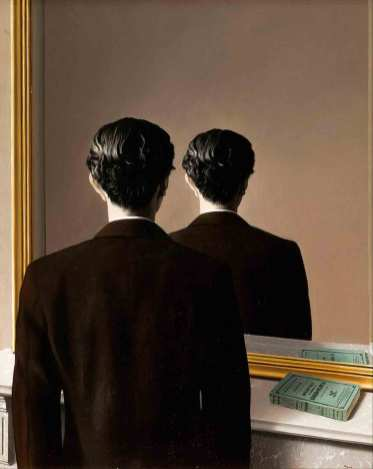 'Not to be reproduced' (1937) - René Magritte.