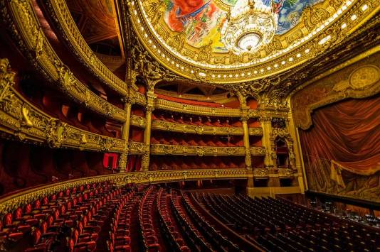 Opera Nacional de París. Fotografía: https://www.flickr.com/photos/chrischabot/